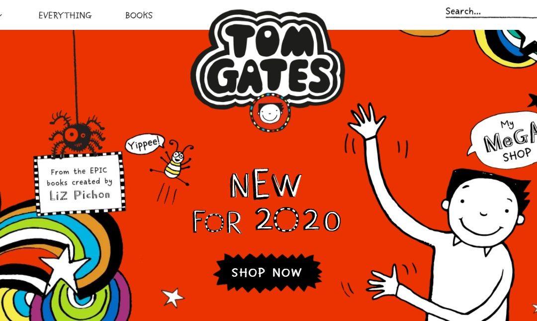 'The Brilliant World of Tom Gates' has a shop