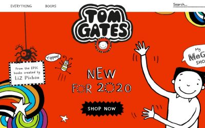 'The Brilliant World of Tom Gates' has a shop